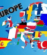 10002277-Flagge-Karte-Europas-Lizenzfreie-Bilder
