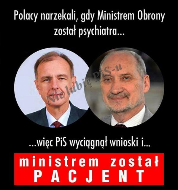 pacjent Macierewicz