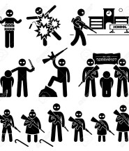35527833-Terrorist-Terrorism-Suicide-Bomber-Stick-Figure-Pictogram-Icons-Stock-Photo