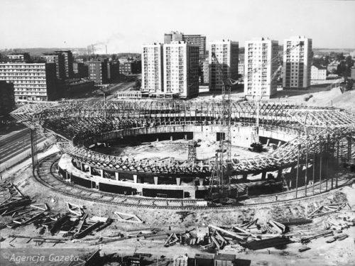 5.06.2007 KATOWICE SPODEK BUDOWA ROK 1967 FOT . DAWID CHALIMONIUK / AGENCJA GAZETA