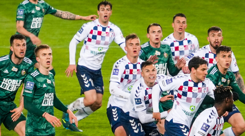Górnik Zabrze - Śląsk Wrocław 1:1 (1:0)